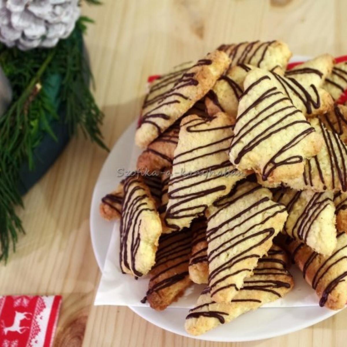 Ezen a képen: Karácsonyi kókuszos keksz