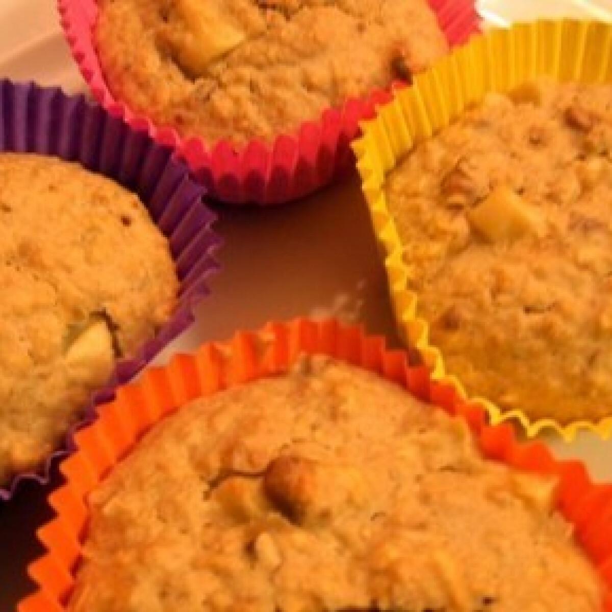 Ezen a képen: Zabpelyhes muffin