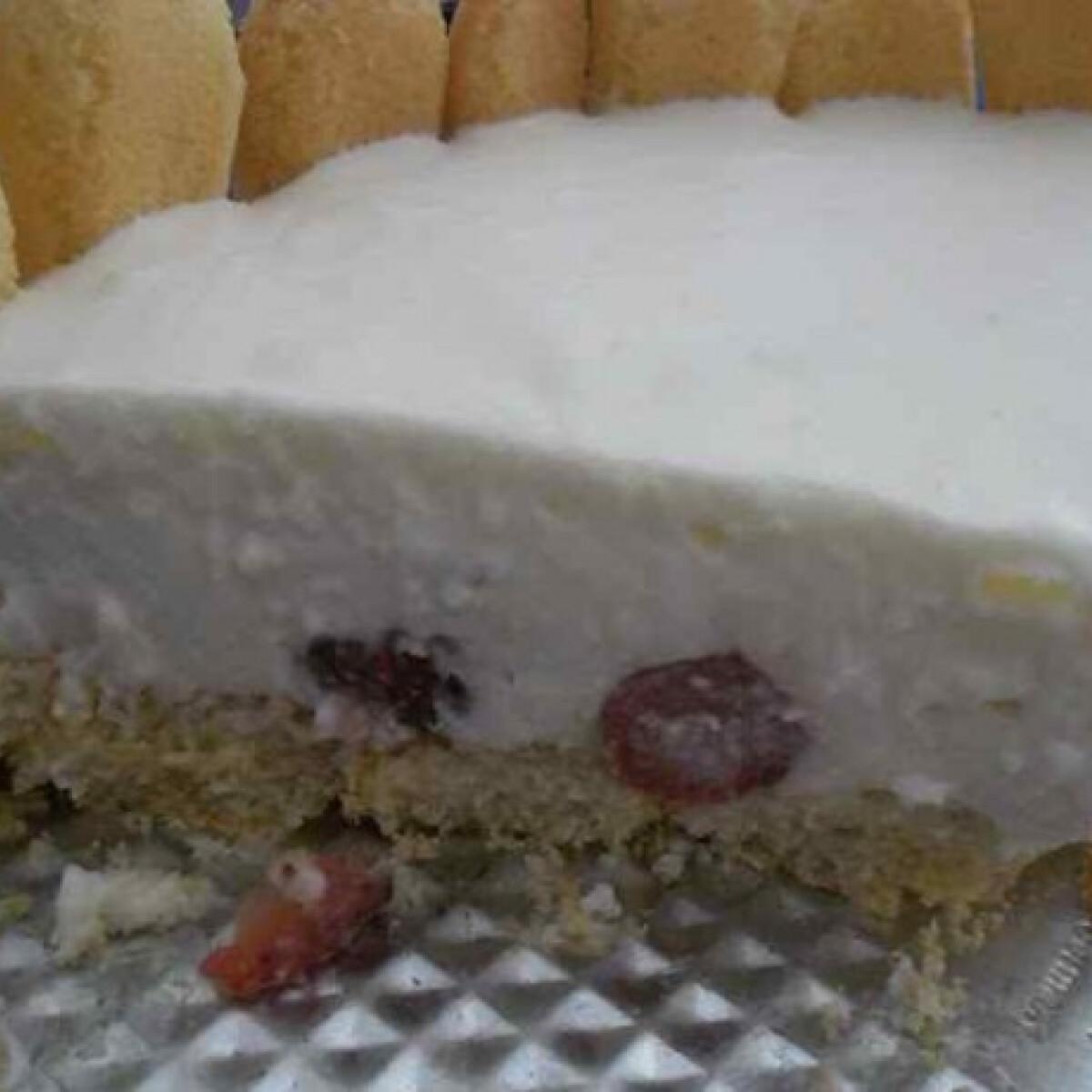 Ezen a képen: Joghurttorta sütés nélkül Mandulától