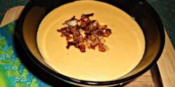 Sárgaborsó-főzelék pirított hagymával