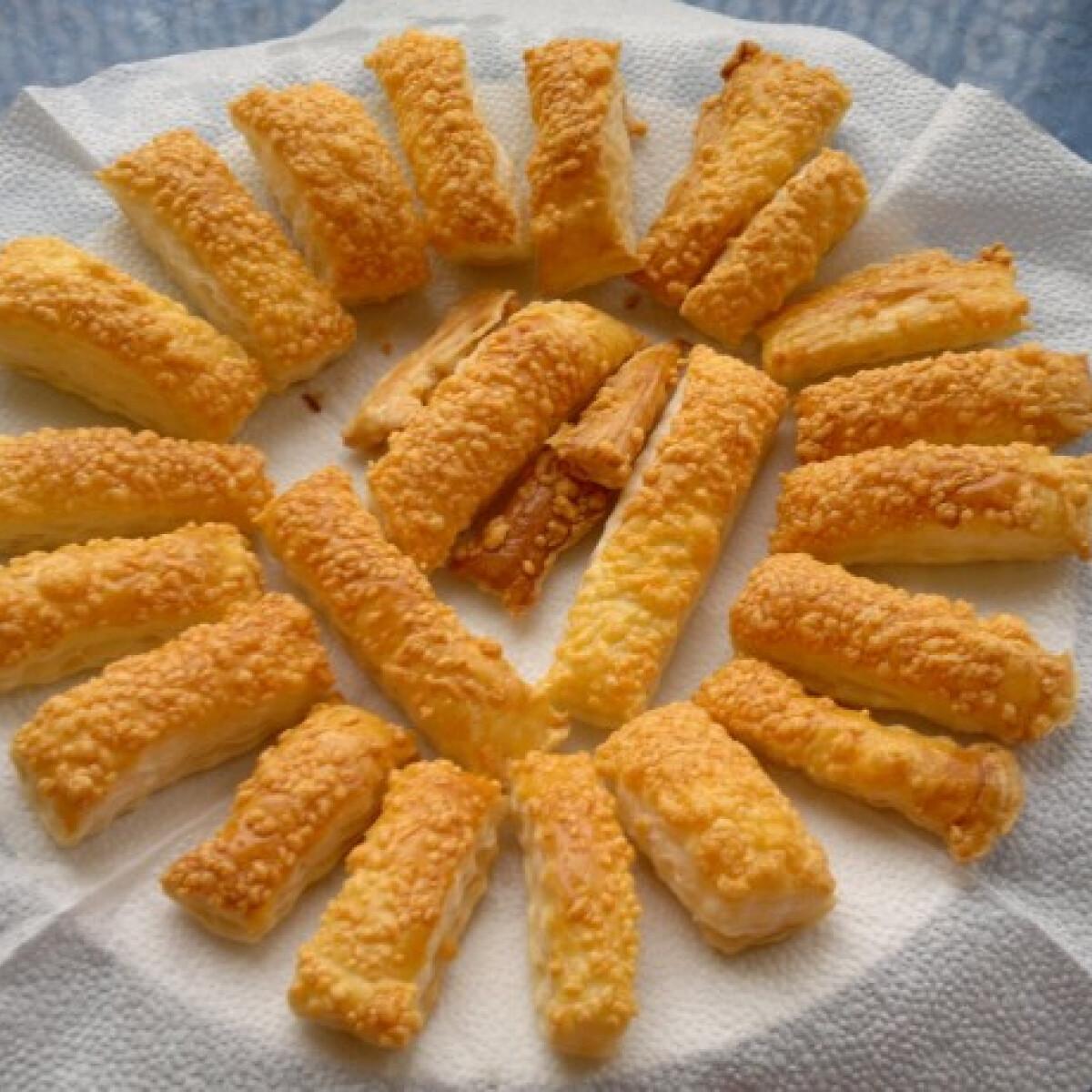 Leveles sajtos rudacskák