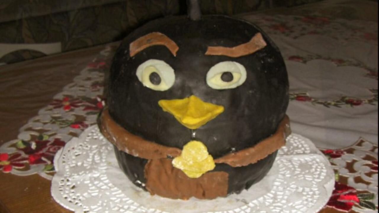 Angry Birds kétféle torta egyben