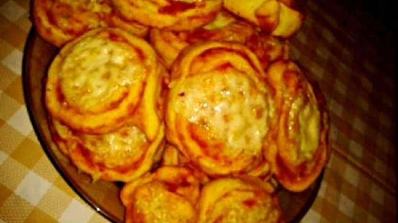 Pizzás csiga ahogy Dorii készíti