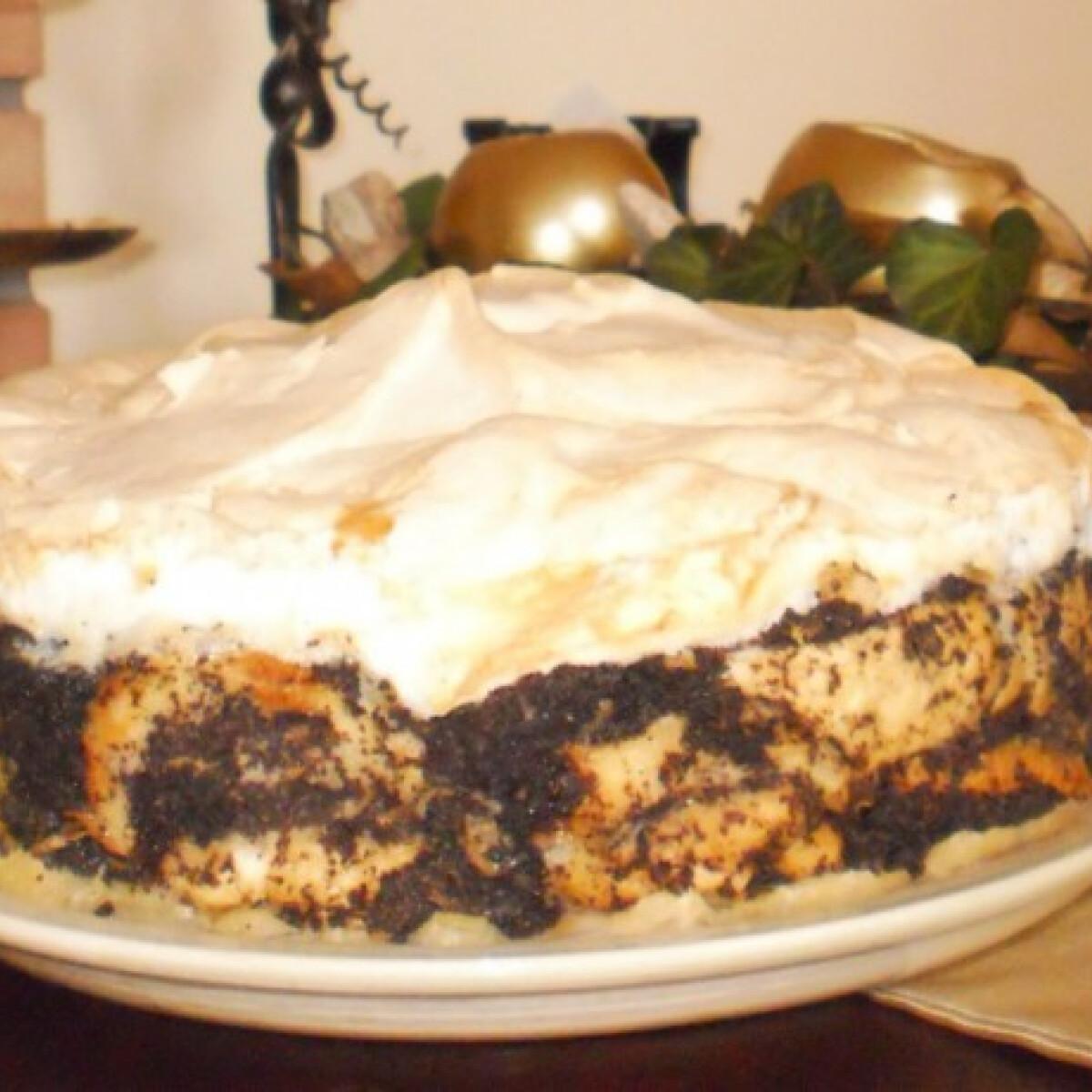 Ezen a képen: Mákos guba torta Nünüke konyhájából