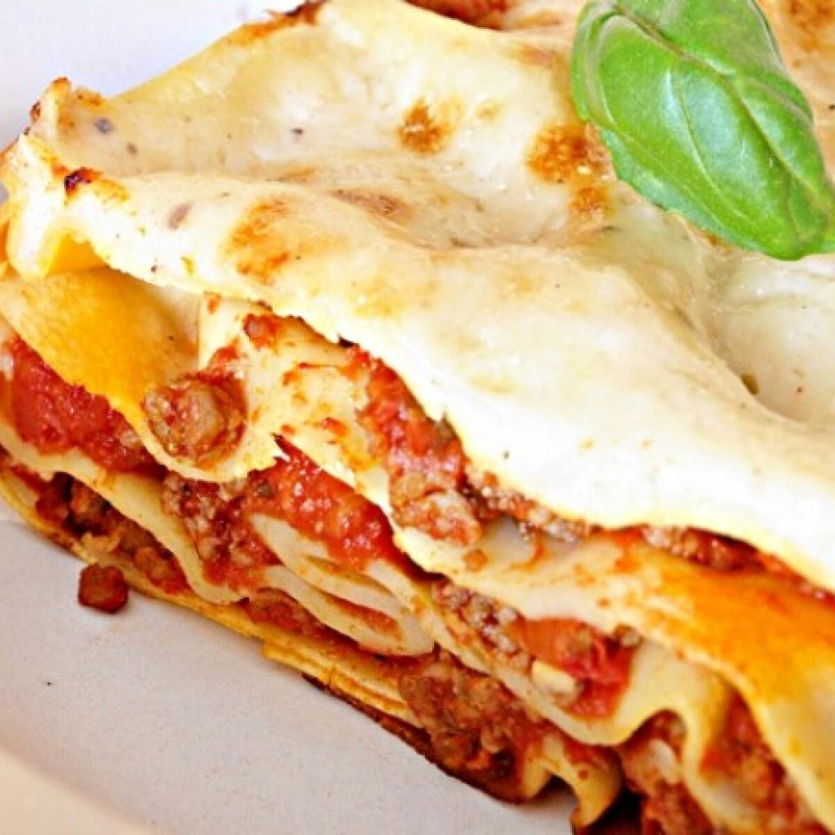 Ezen a képen: Villámgyors lasagne
