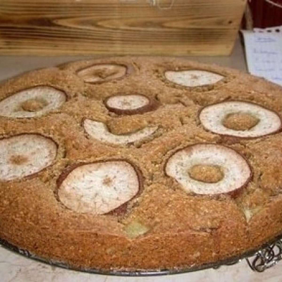 Ezen a képen: Körtetorta 3. - omlós, fűszeres
