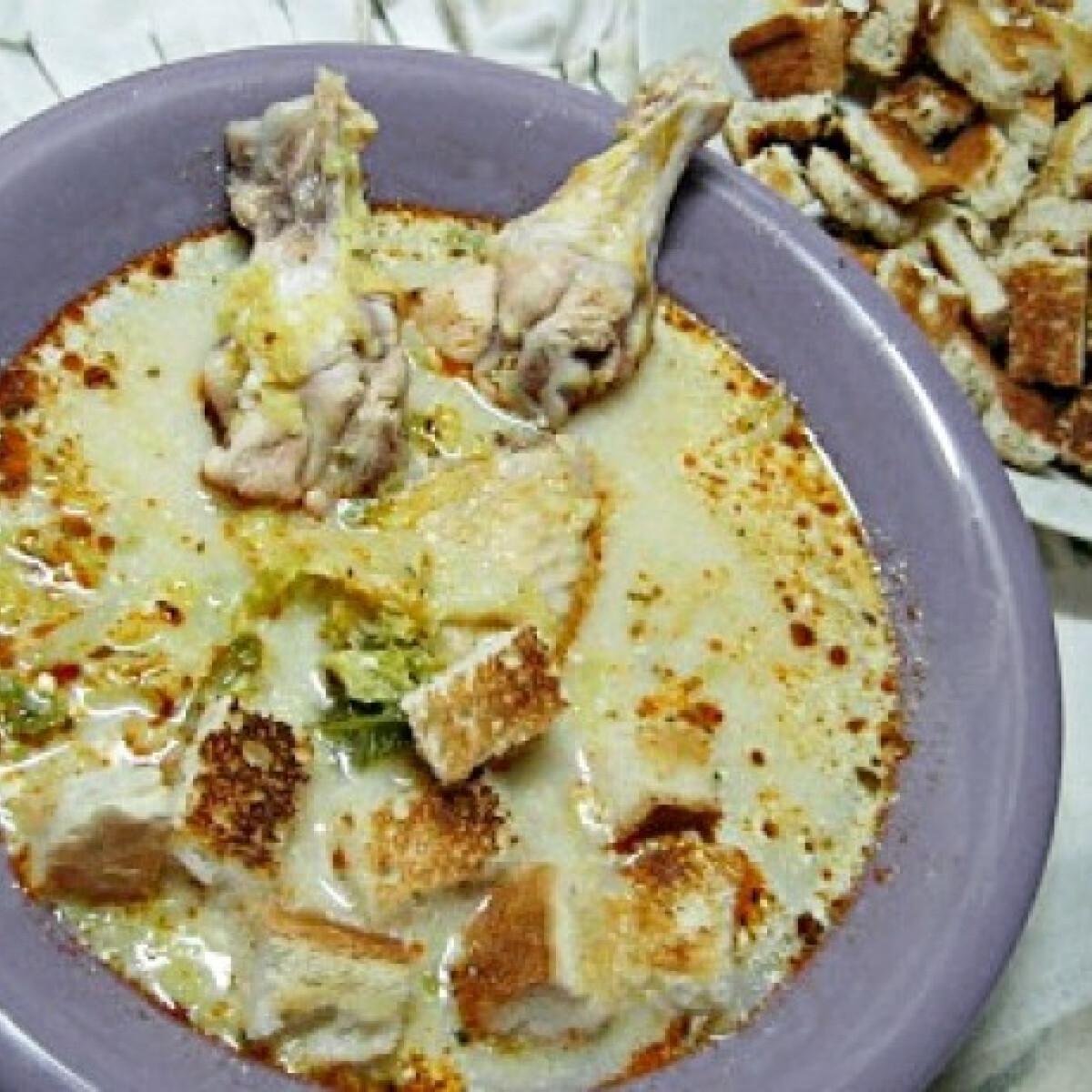 Frankfurti leves csirkeszárnyból