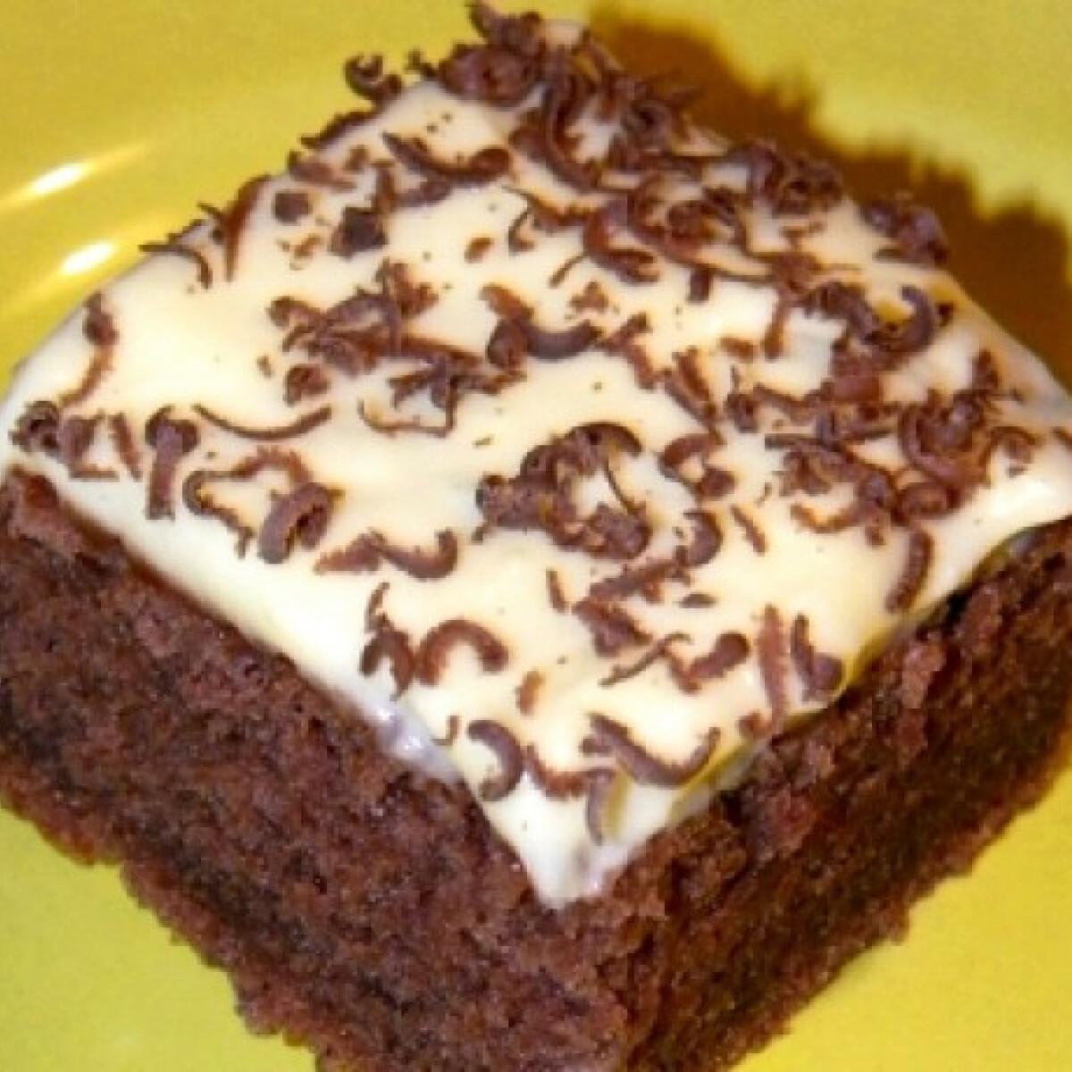 Ezen a képen: Kakaós süti Renikétől
