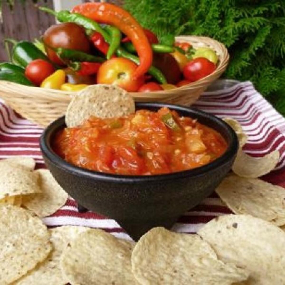 Ezen a képen: Indián salsa