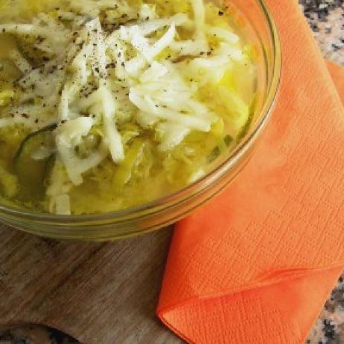 Ezen a képen: Téli leves