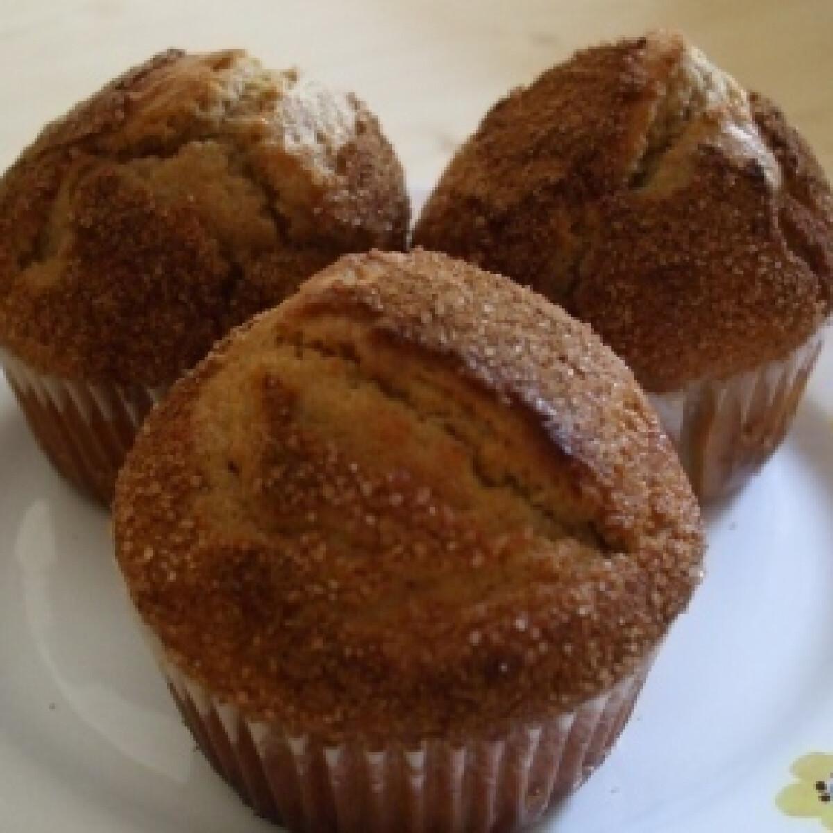 Ezen a képen: Bögrés fahéjas muffin