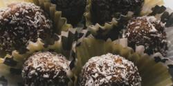 Diétás kókuszgolyó