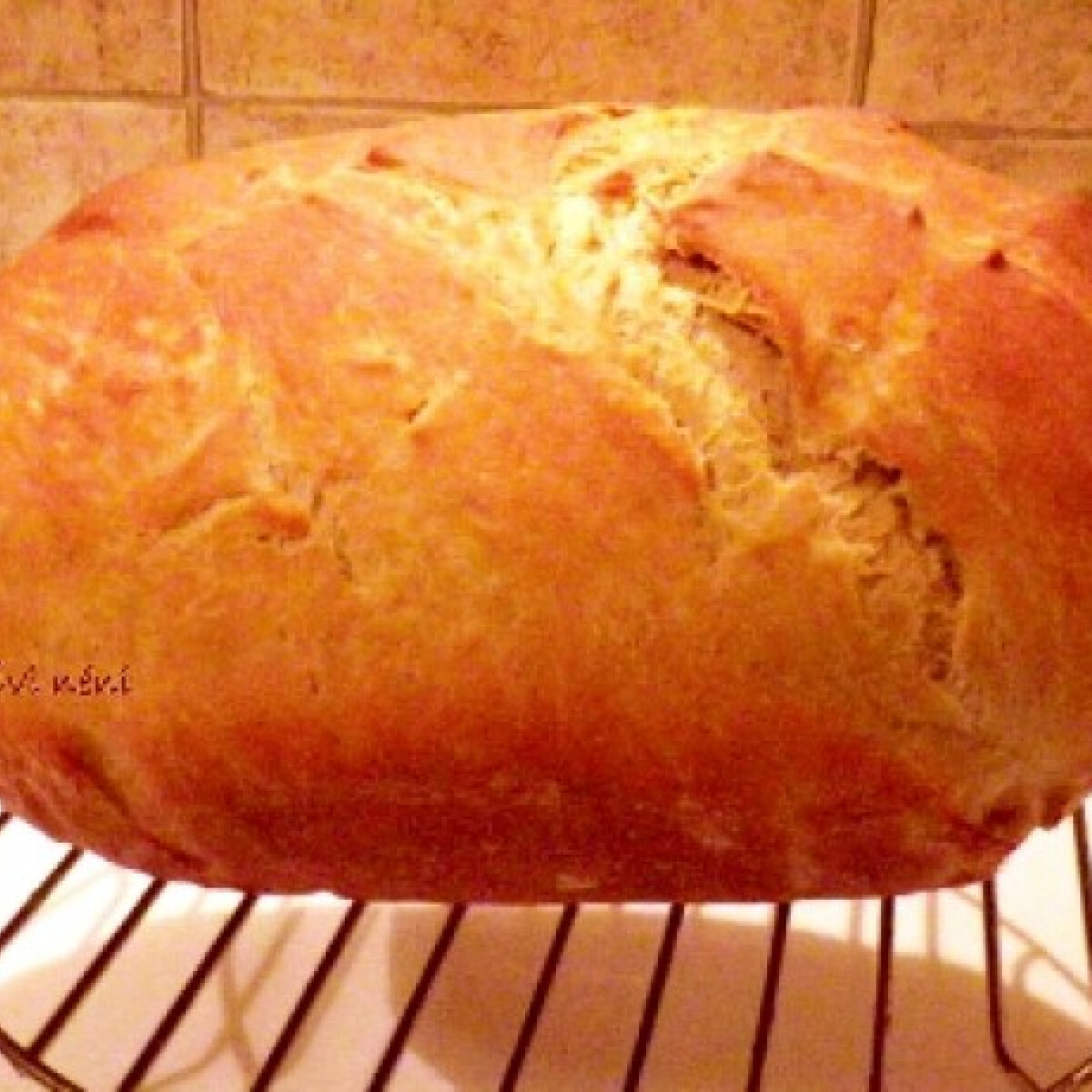 Jénaiban sült fehér kenyér