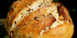 Vadkovászos DNK kenyér jénaiban sütve