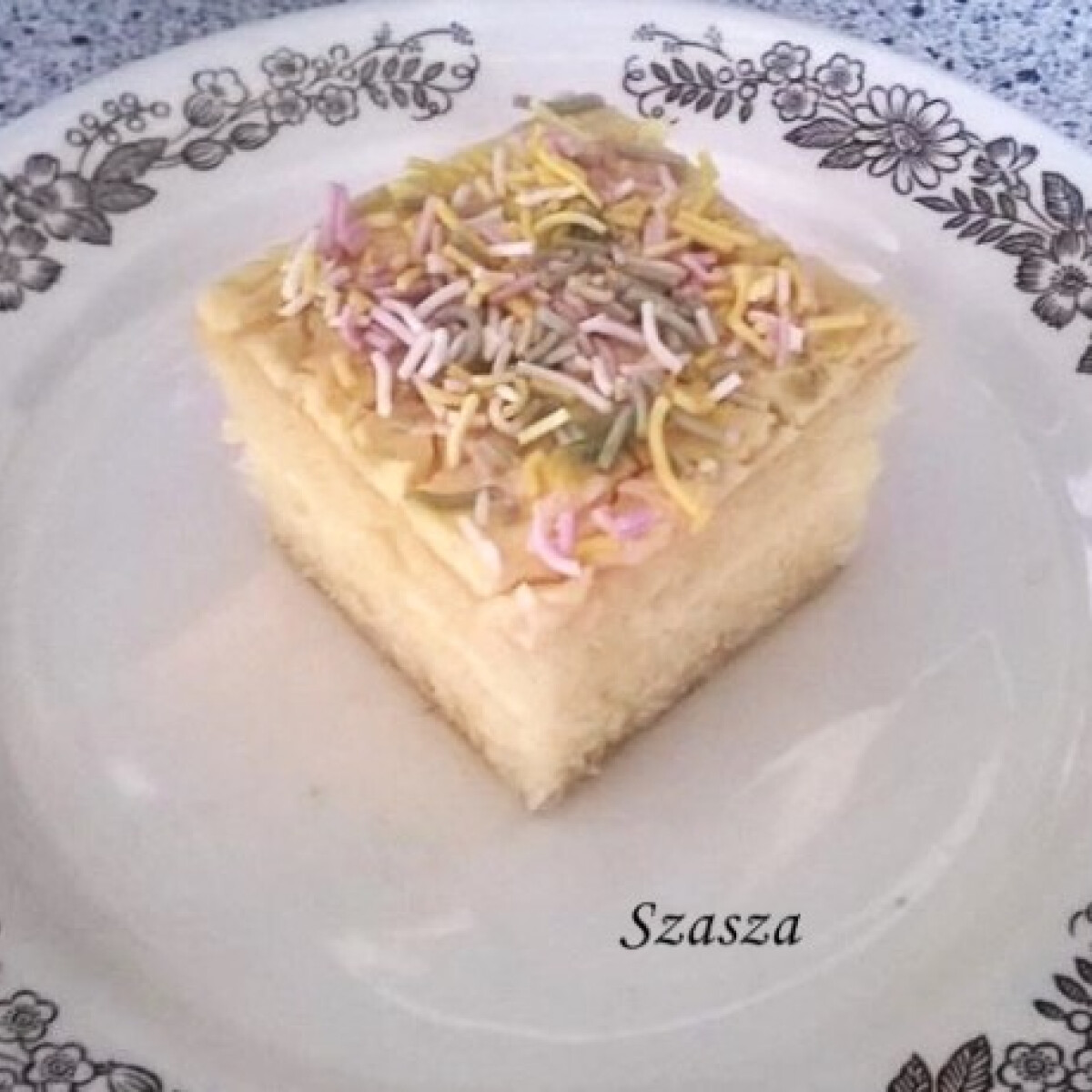 Citromos kocka Szasza konyhájából