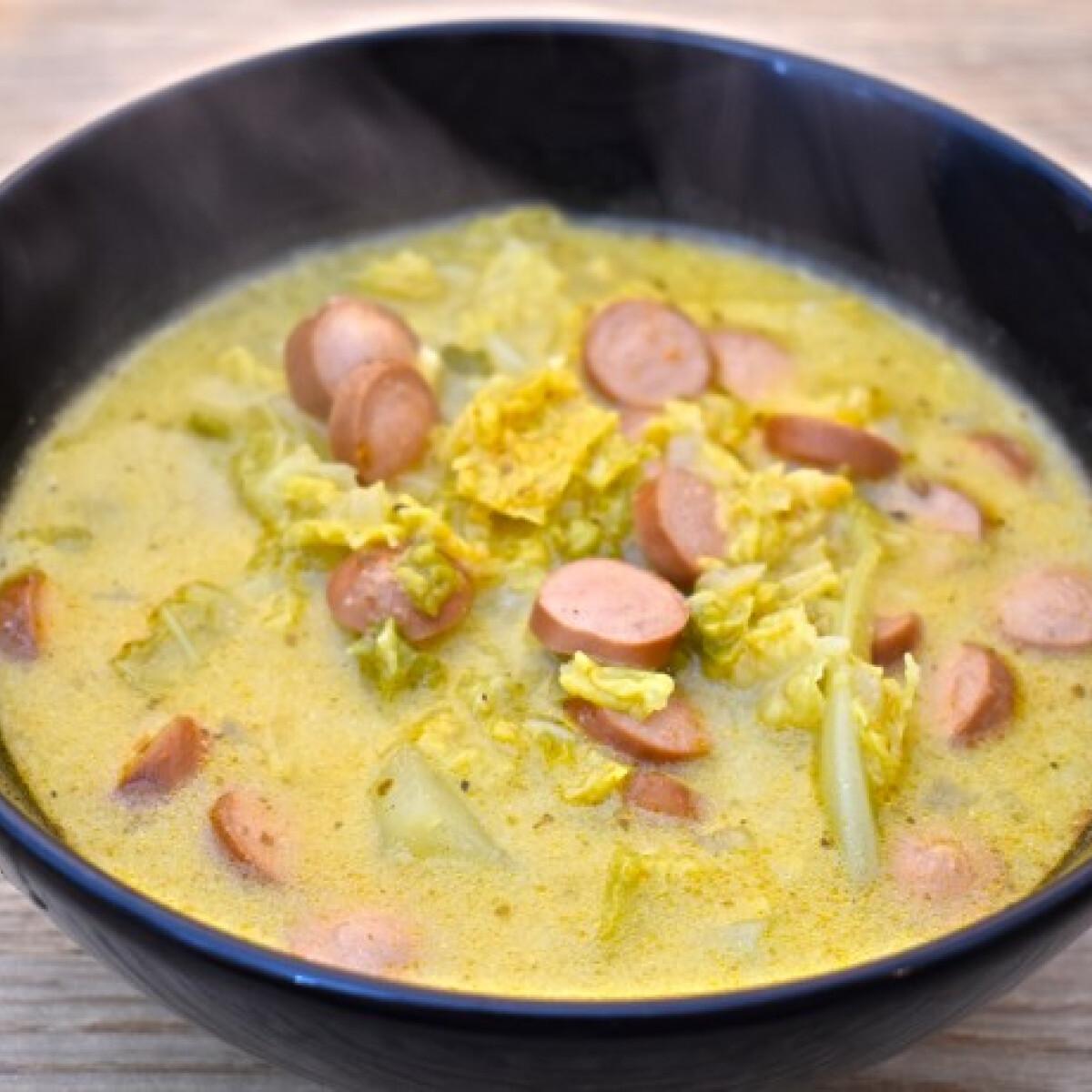 Ezen a képen: Frankfurti leves Anzsy világa konyhájából