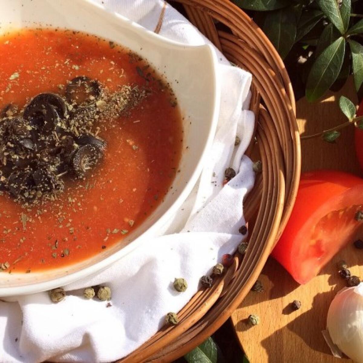 Sültparadicsom-leves