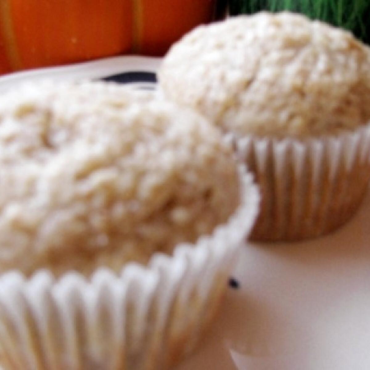 Ezen a képen: Reggeli körtés muffin