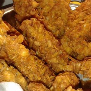 KFC csirkemellcsíkok