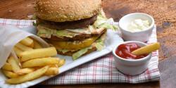 Big Mac szendvics házilag