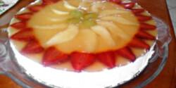 Gyümölcstorta cukor nélkül
