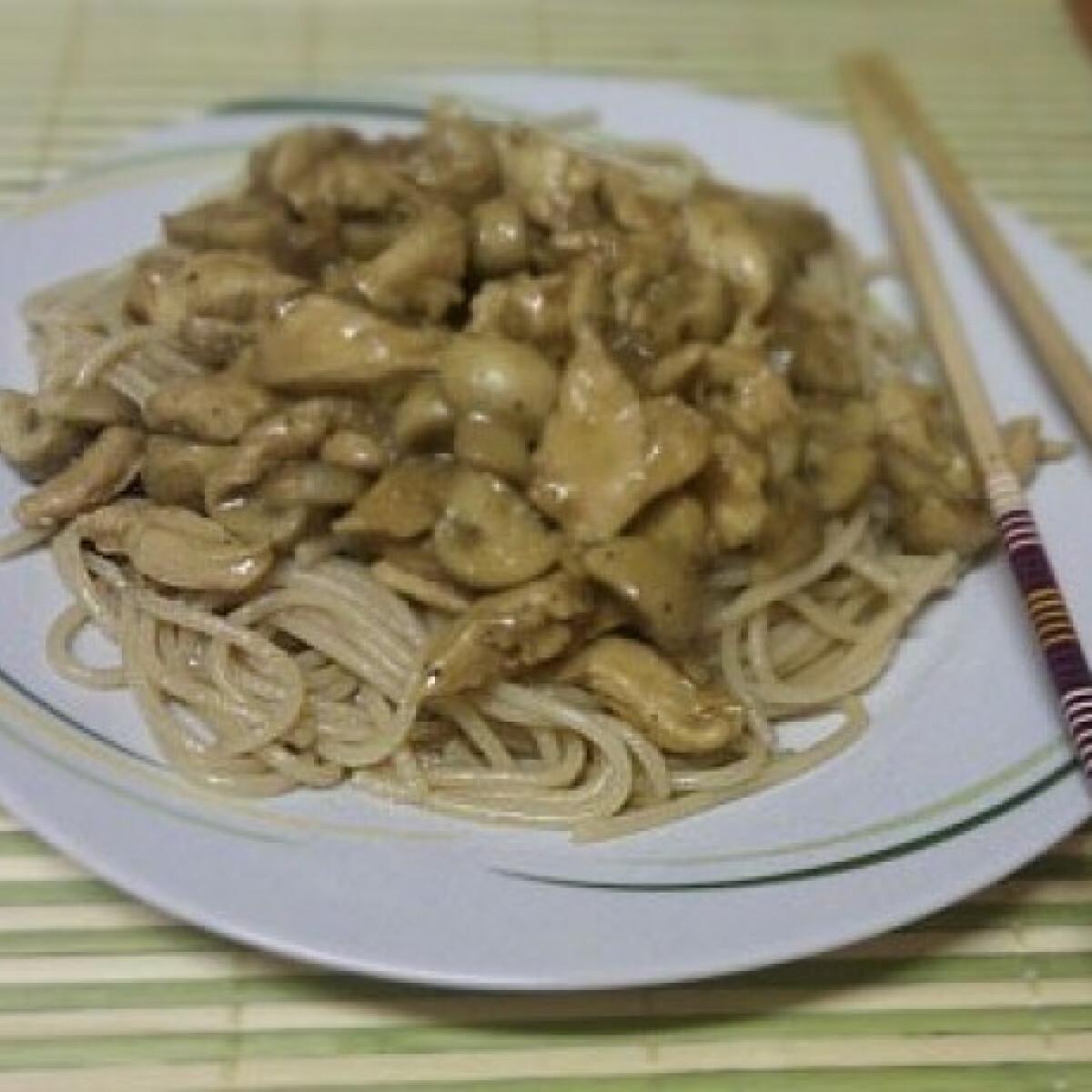 Ezen a képen: Kínai gombás csirke