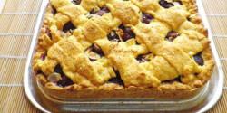 Cseresznyés pite Évi néni konyhájából