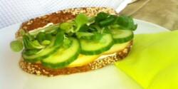 Suliszendvics sajtkrémmel