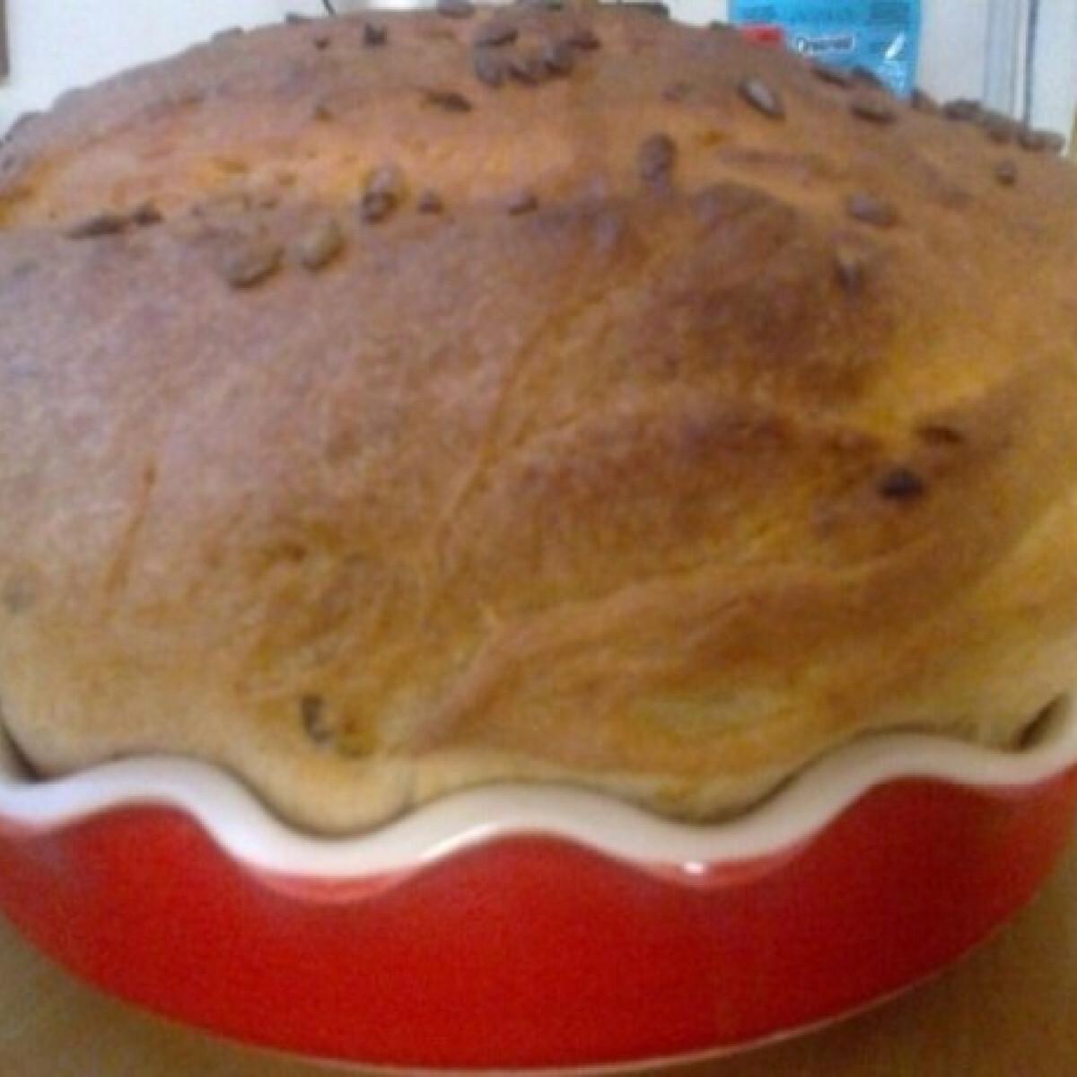 Ezen a képen: Görög sörös kenyér