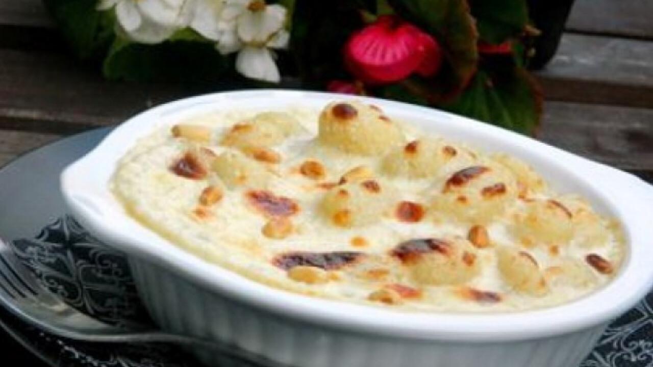 Mascarponés-gorgonzolás gnocchi