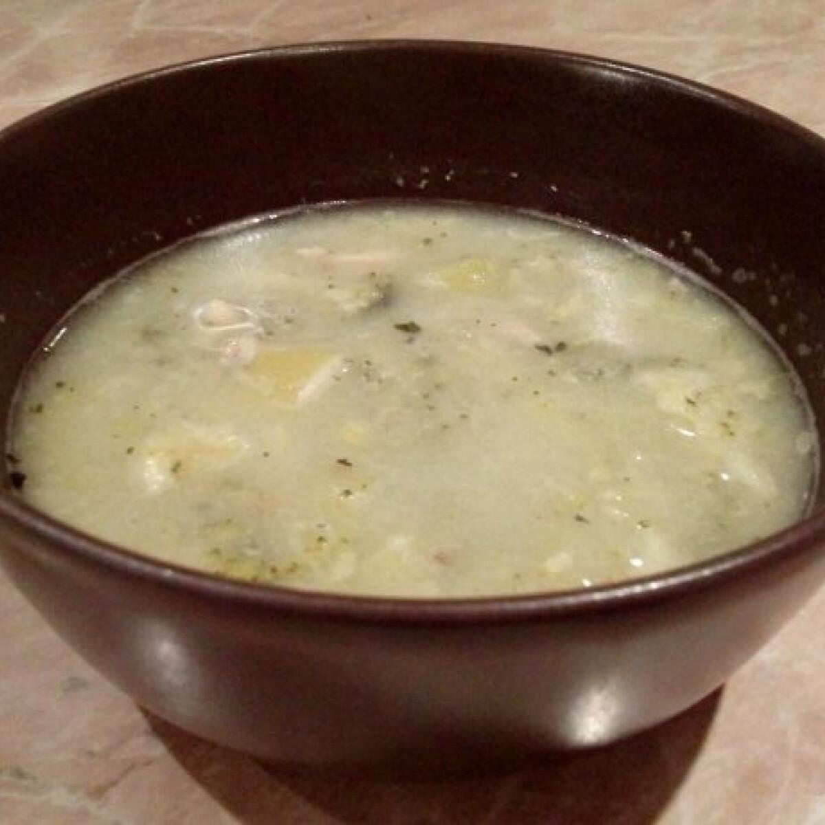 Ezen a képen: Diétás leves Hópihe konyhájából