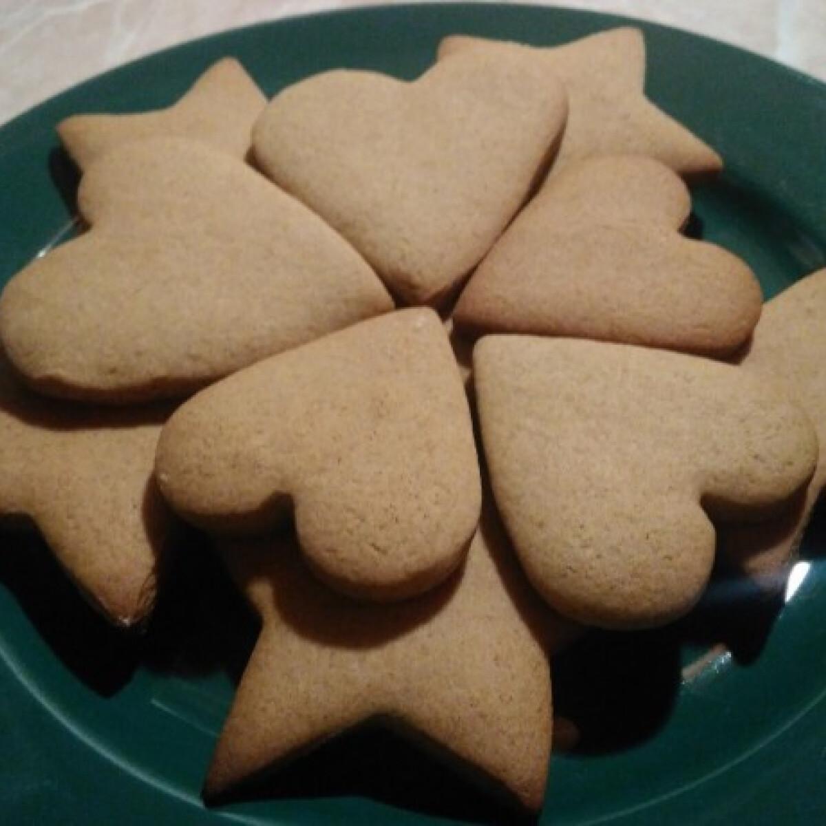Ezen a képen: Gyömbéres keksz Audrey89 konyhájából
