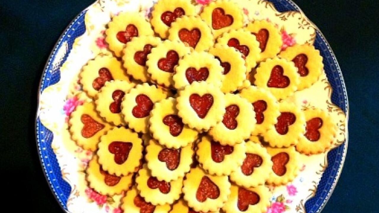 Linzer szívecskék