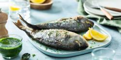 Grillezett hal Philips Airfryerben készítve