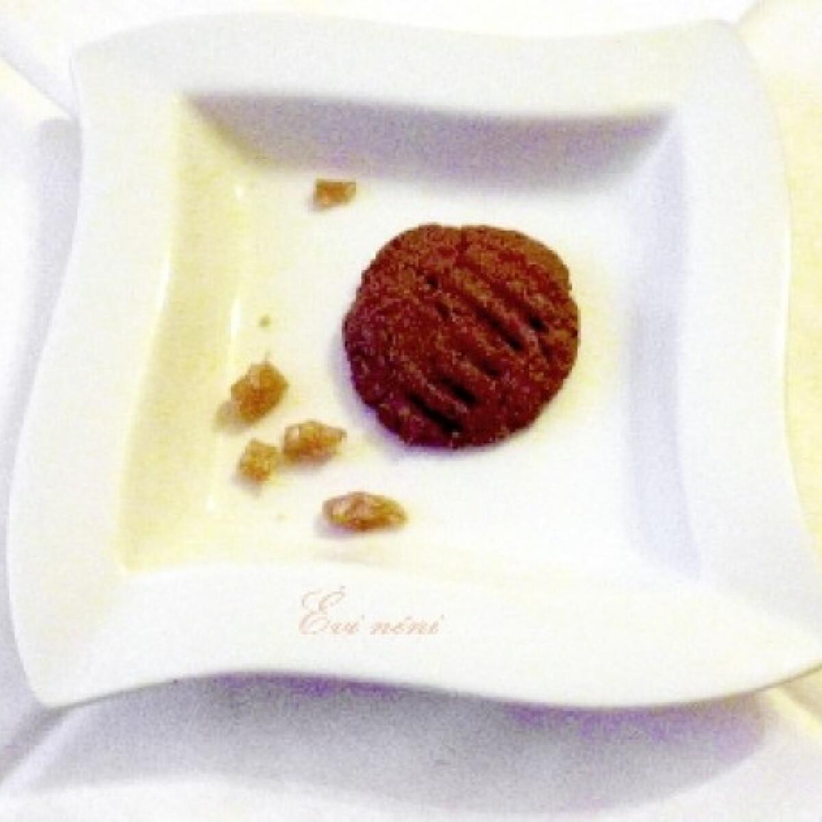Kandírozott gyömbéres keksz