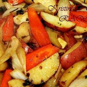 Vegyes zöldség grillen sütve
