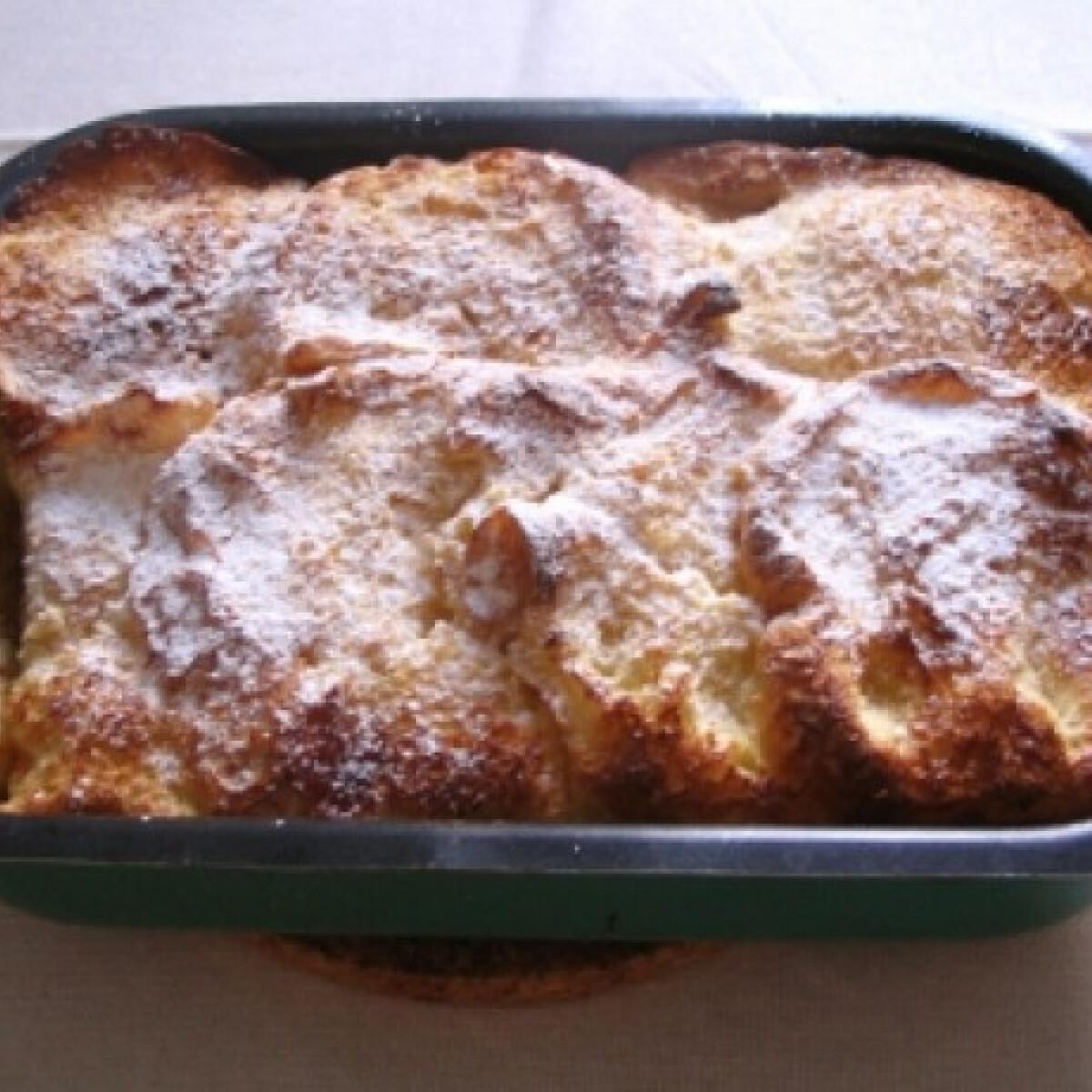 Ezen a képen: Túrós máglyarakás Márti konyhájából