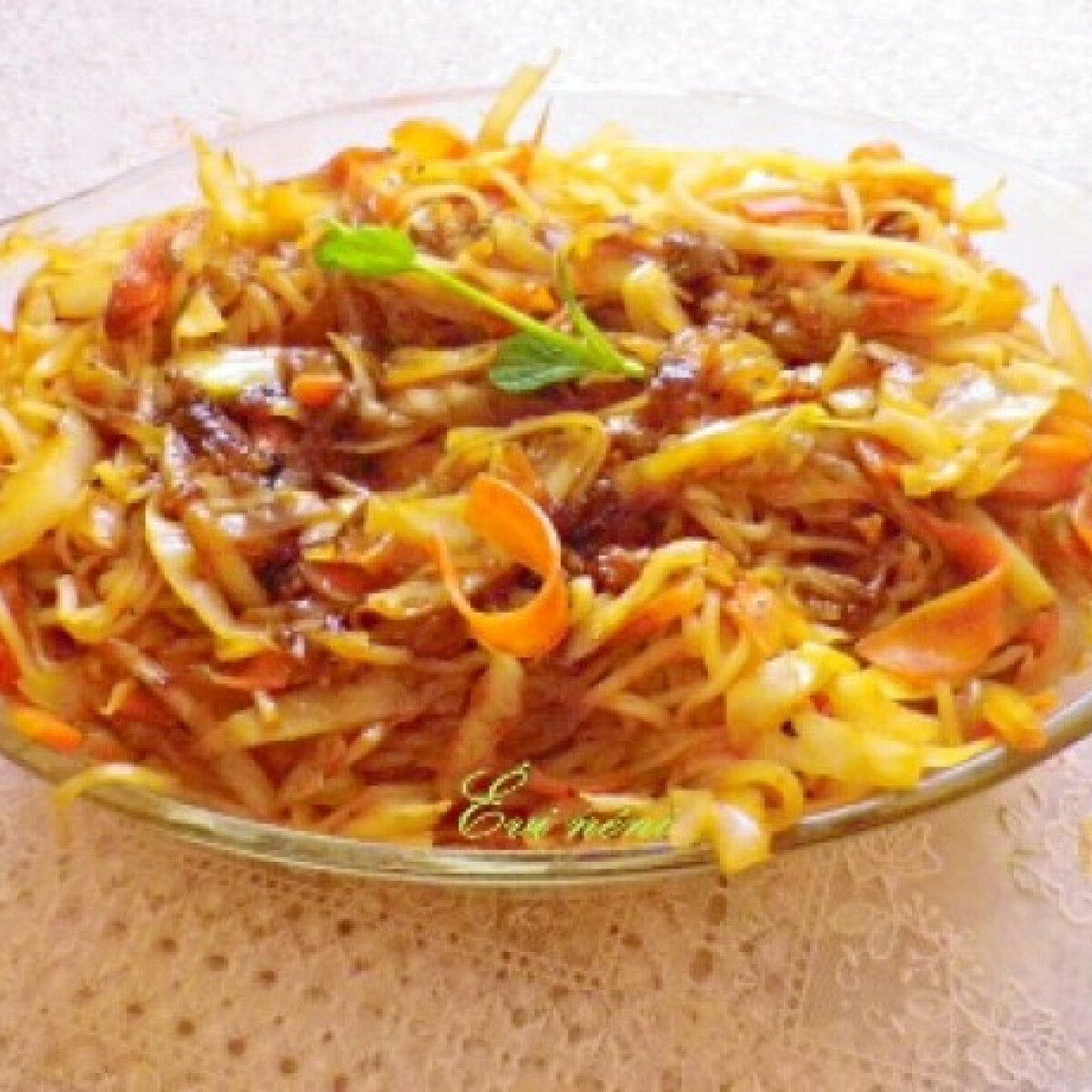 Kínai zöldséges rizstészta