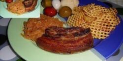 Konfitált császárhús