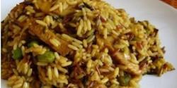 Indonéz currys csirkemell