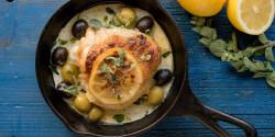 Görög citromos csirkecombok