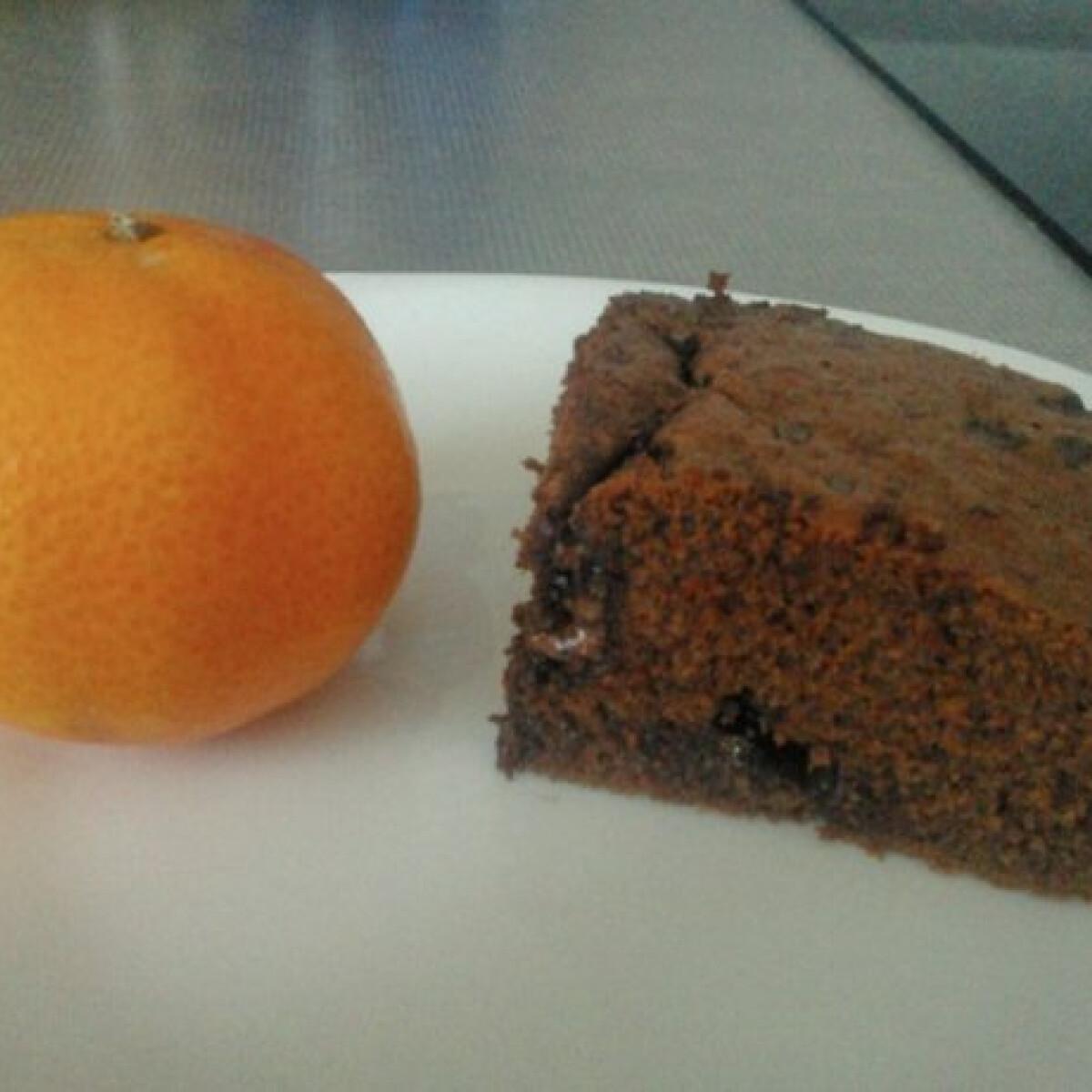 Ezen a képen: Csokis narancsos