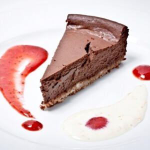 Csokoládés sajttorta Ring Café konyhájából