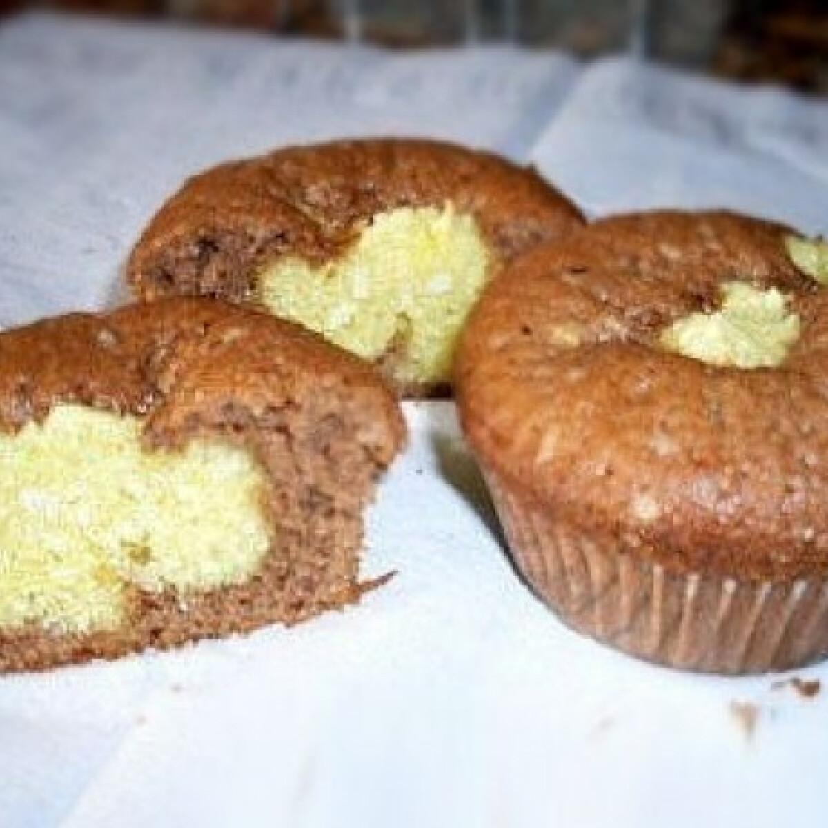Boci muffin 2. - túrós