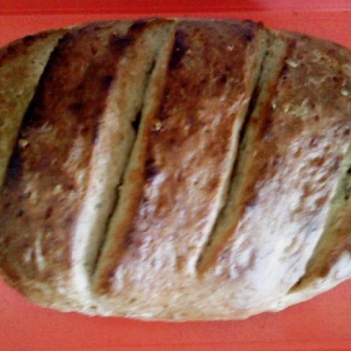 Pikáns hagymás gyors kenyér