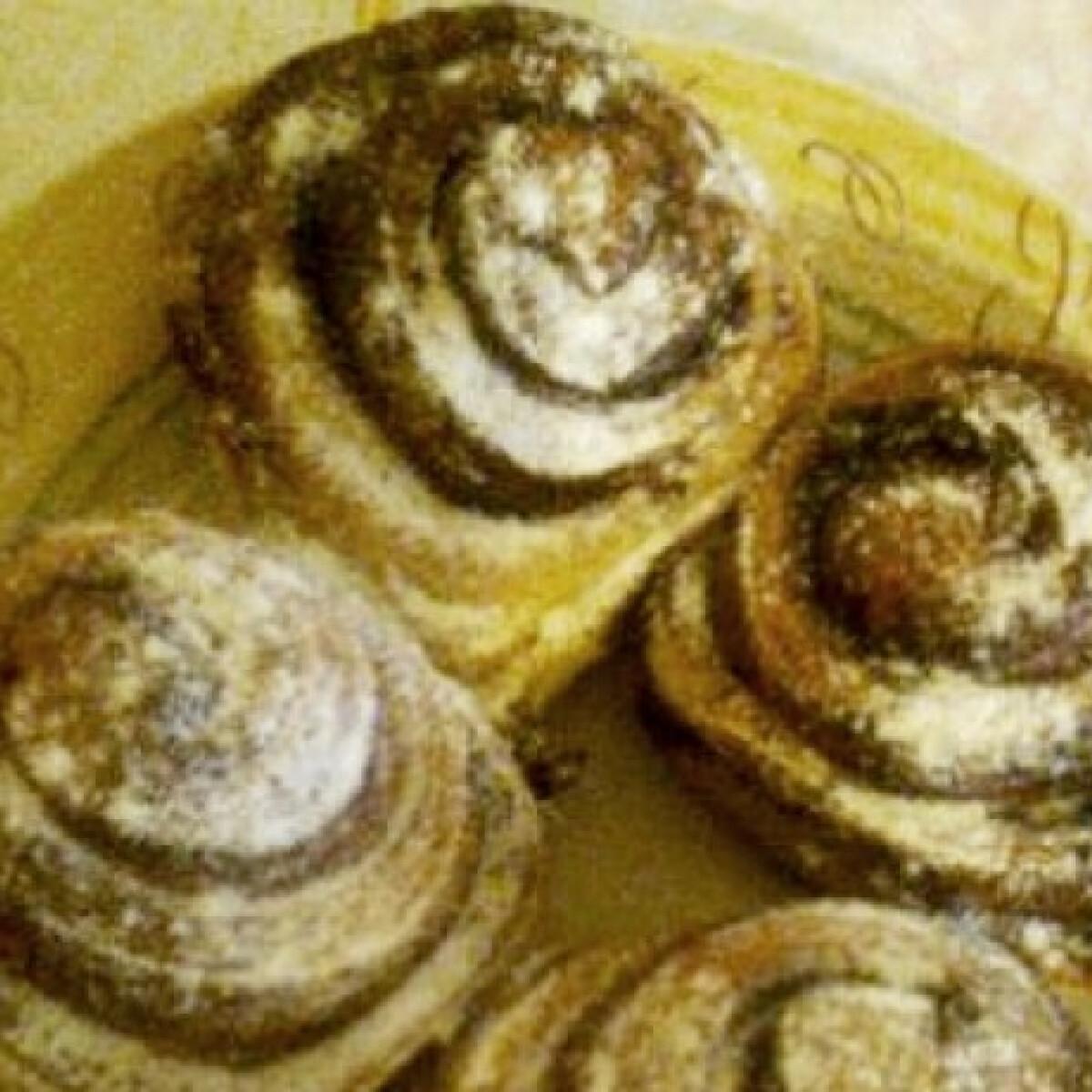 Ezen a képen: Kakaós csiga Dézi konyhájából