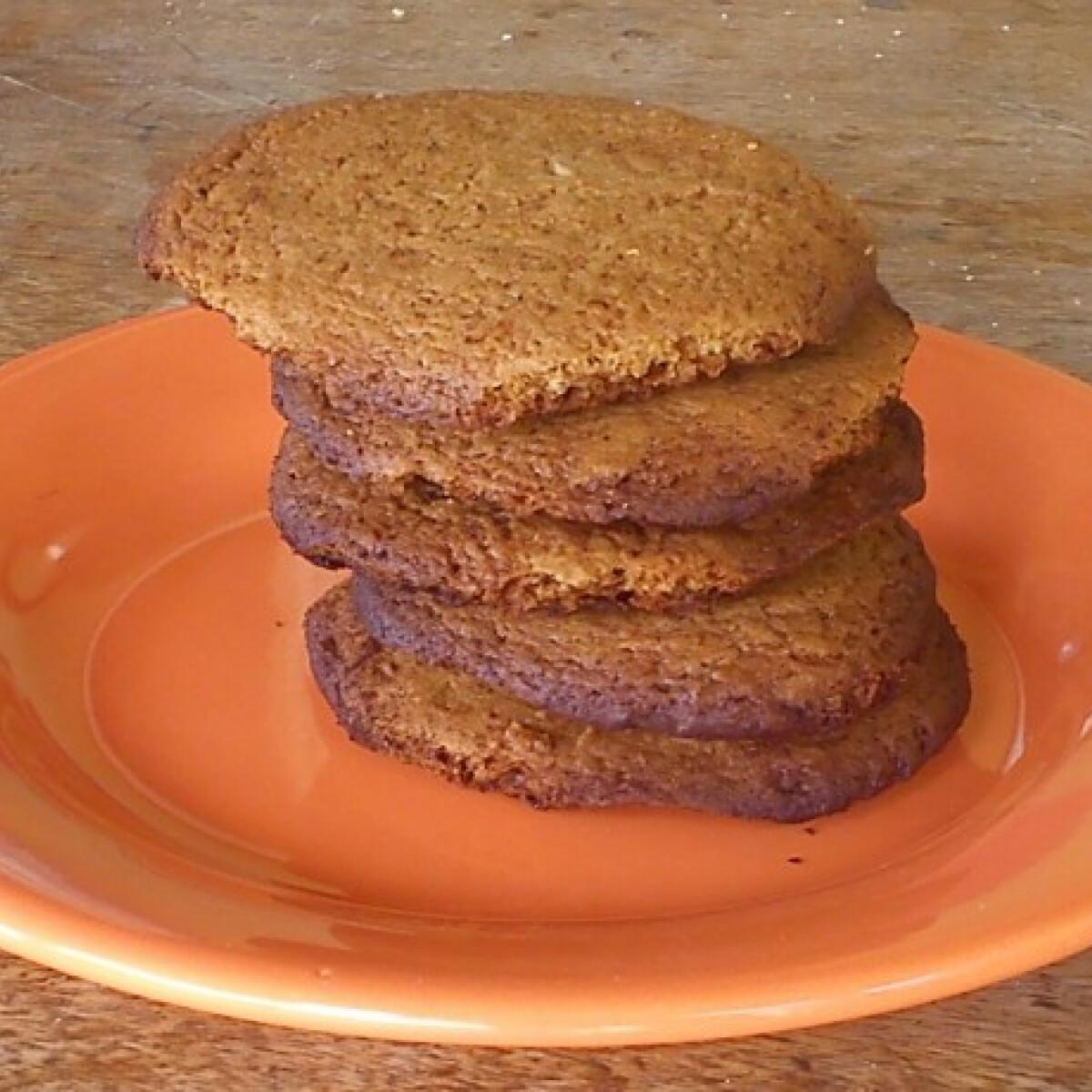 Ezen a képen: Gyömbéres keksz BeePoo konyhájából