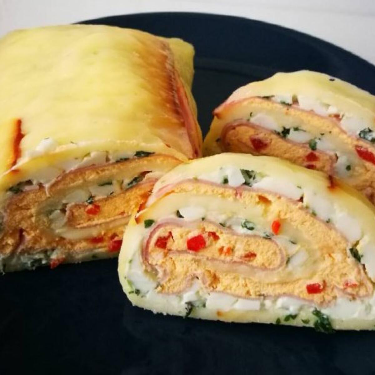 Ezen a képen: Színes sajttekercs