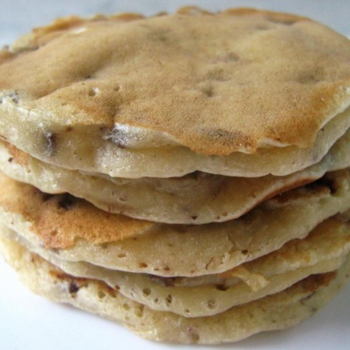 Almás-csokis palacsinta (Almás palacsinta 3.)