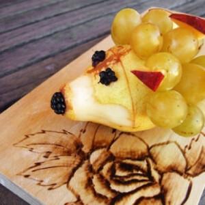 Sünike gyümölcsből Mignon konyhájából